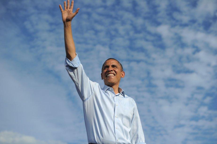 Le président des États-Unis en a été quitte... (Photo: AFP)