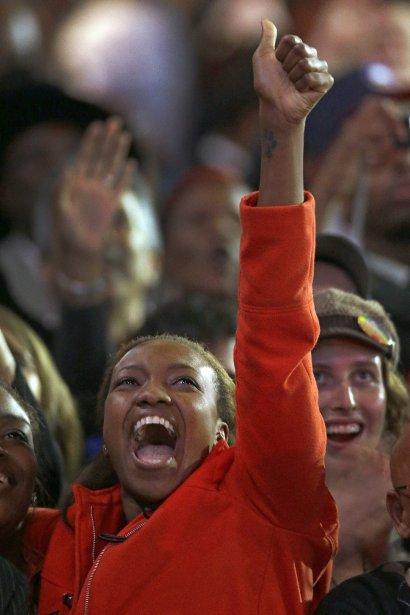 Le vote afro-américain, acquis en très grande majorité à Barack Obama, a pesé lourd dans la balance. | 6 novembre 2012