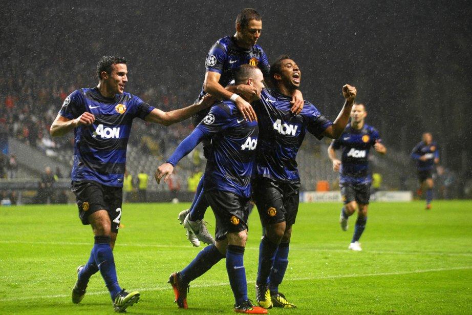 Manchester United s'est qualifié pour les huitièmes de... (Photo: AFP)