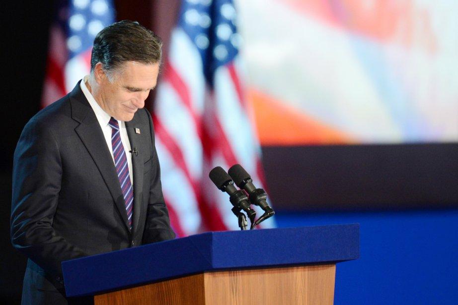 Le candidat républicain défait Mitt Romney a évité... (PHOTO DON EMMERT, AFP)