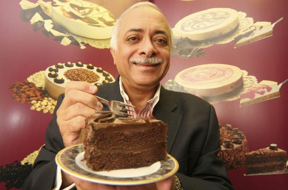 George Michael, président de Desserts Sublimes, promet qu'il... (Photo Stéphane Champagne, collaboration spéciale)