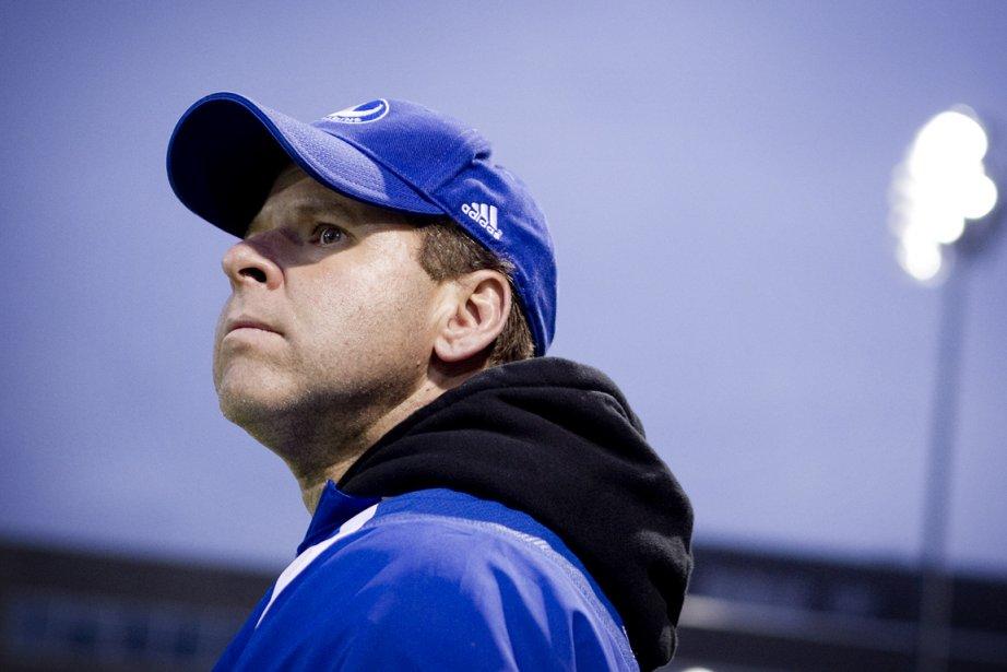 L'entraîneur-chef des Carabins de l'Université de Montréal, Danny... (Photo: Marco Campanozzi, La Presse)