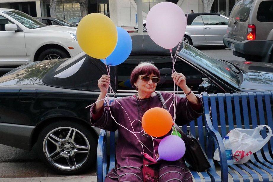 Agnès de ci de là Varda... (Photo: fournie par les RIDM)