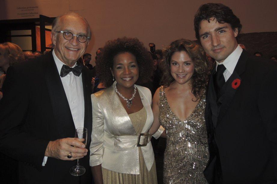 Jean-Daniel Lafond, Michaëlle Jean, Sophie Grégoire et Justin Trudeau.... | 2012-11-08 00:00:00.000