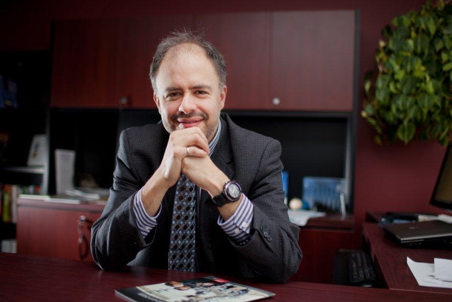 Éric Germain est responsable du Centre institutionnel de... (PHOTO ÉDOUARD PLANTE-FRÉCHETTE, LA PRESSE)