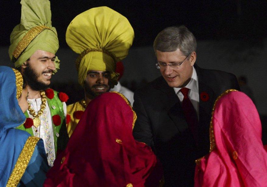 Stephen Harper à Chandigarh. | 8 novembre 2012