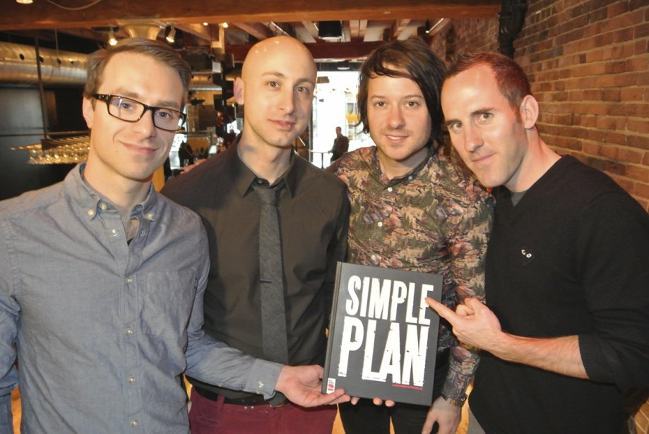 Les gars de Simple Plan | 8 novembre 2012