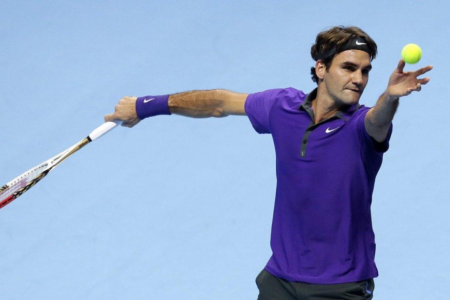 Roger Federer a battu David Ferrer 6-4, 7-6... (Photo: AP)
