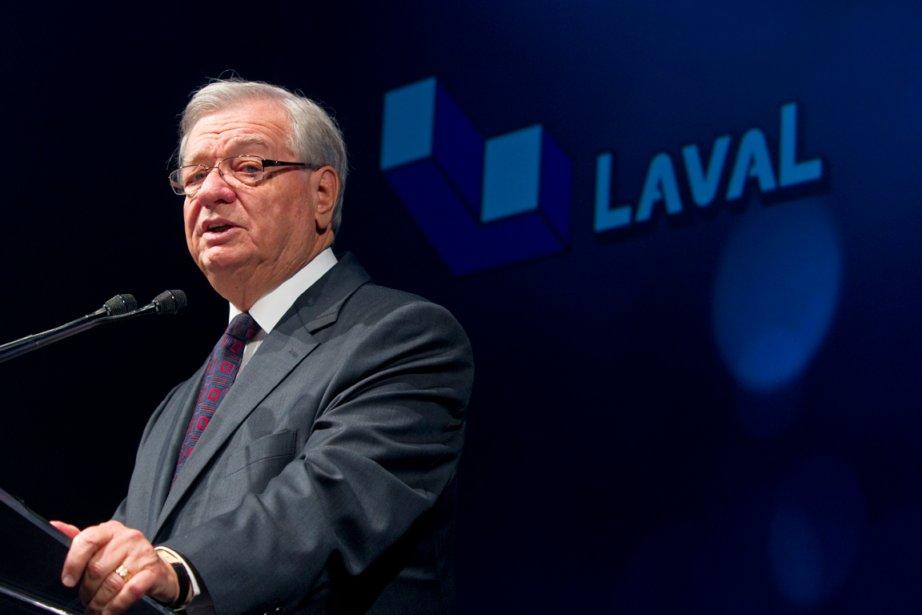 Gilles Vaillancourt, maire de Laval.... (PHOTO ALAIN ROBERGE, LA PRESSE)