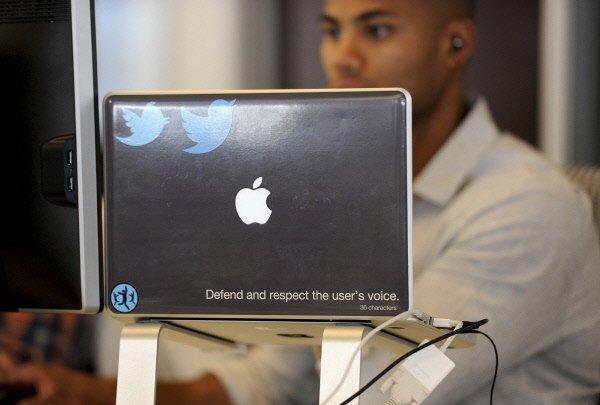 De nombreuses personnes cherchant à se connecter à leur compte Twitter jeudi...