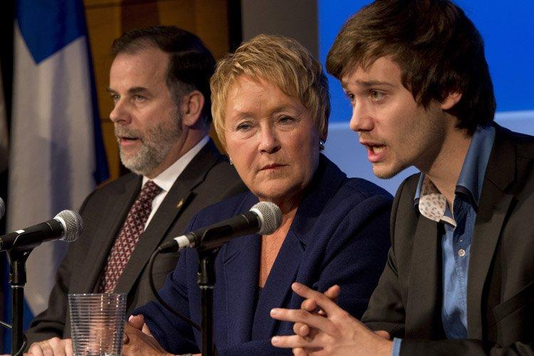 Pauline Marois a annoncé les détails du sommet... (Photo: PC)