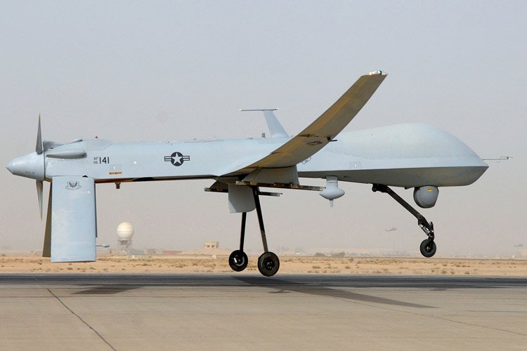Un drone Predator.... (Photo: AFP)