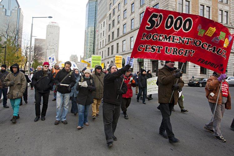 Le FRAPRU exige la mise en chantier de... (Photo: François Roy, La Presse)