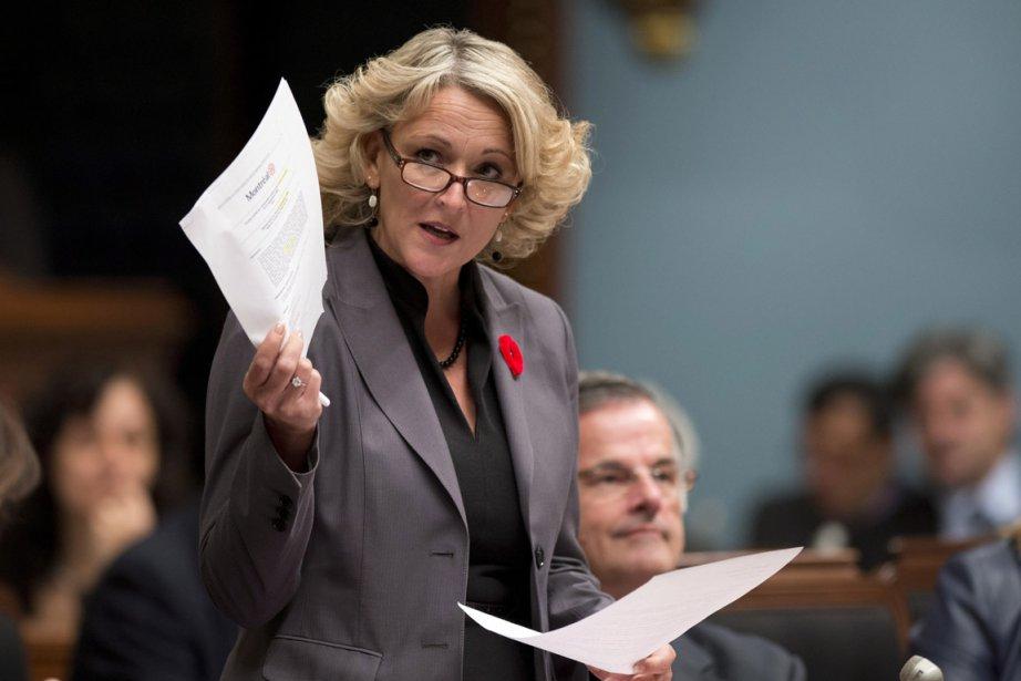 Lise Thériault... (Photo Jacques Boissinot, archives La Presse Canadienne)