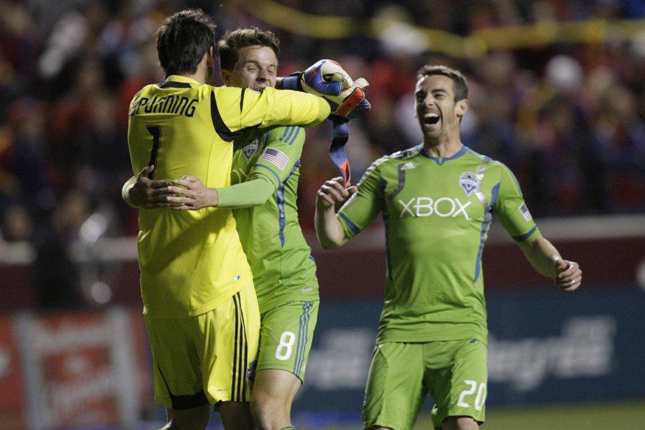 Les Sounders de Seattle ont remporté une victoire... (Photo: AP)