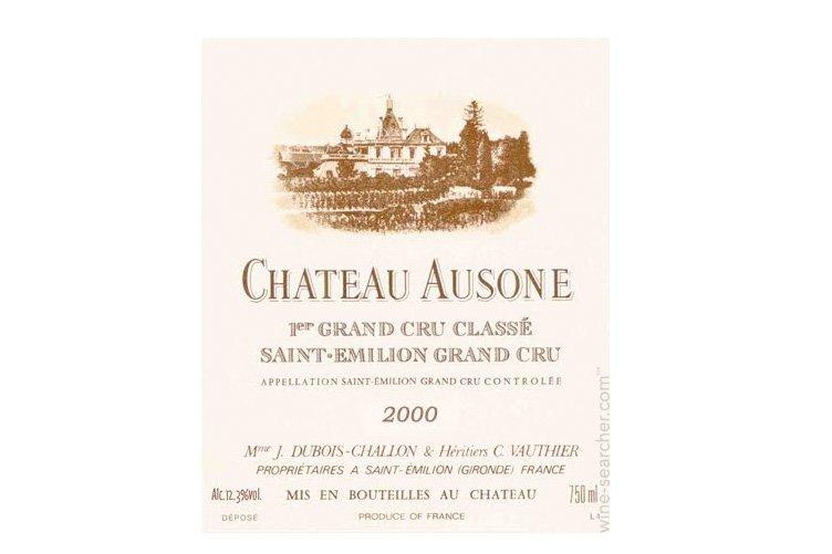 Une bouteille de six litres de Château Ausone...