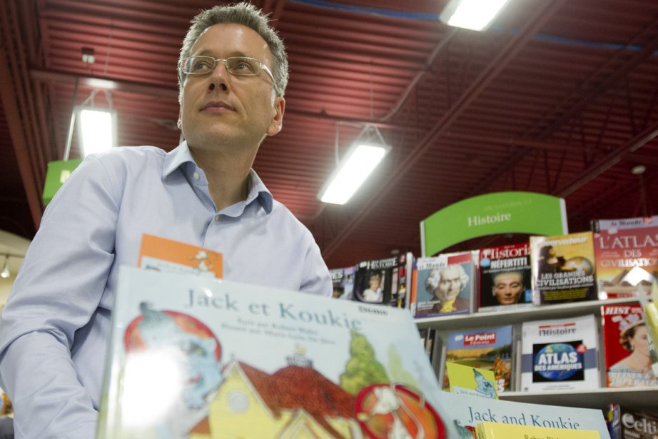 Rencontrer les lecteurs? L'auteur jeunesse Robert Blake en... (Photo: Marco Campanozzi, La Presse)