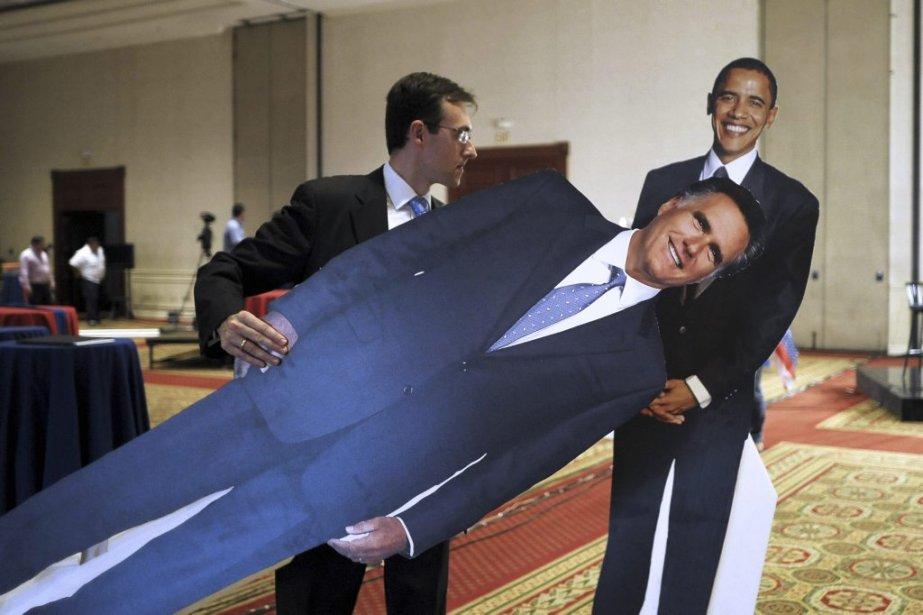 Combat terminé entre Barack Obamaet Mitt Romney. | 9 novembre 2012
