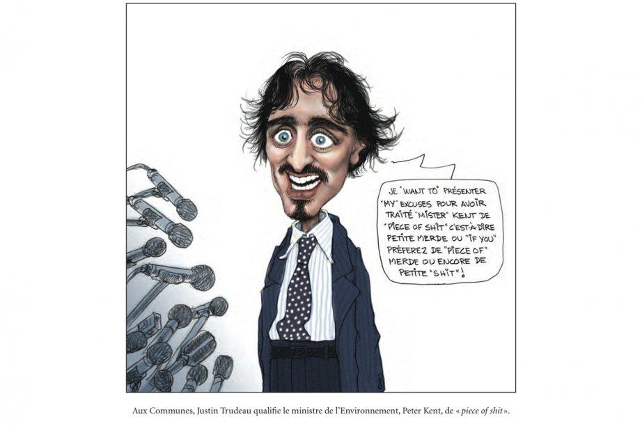 Comme le vin nouveau, la compilation annuelle des caricatures du collègue Serge...