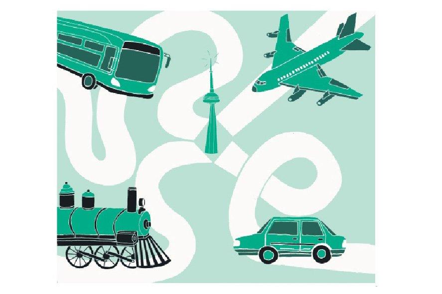 Quel est le meilleur moyen pour aller à... (Illustration: Charlotte Demers-Labrecque, La Presse)
