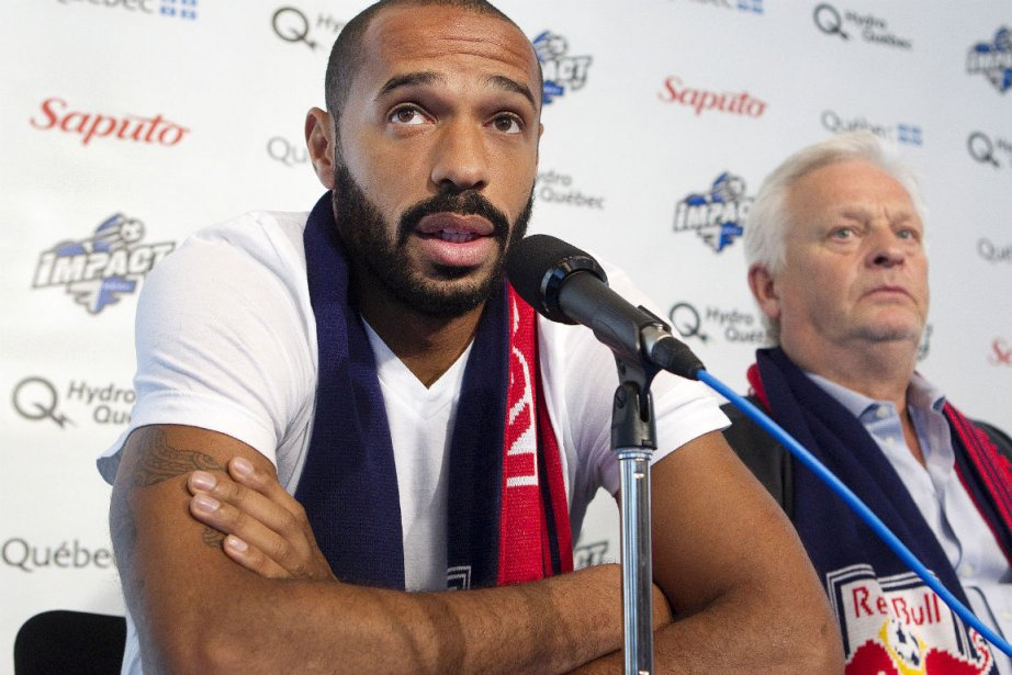 Thierry Henry etHans Backe... (Photo Robert Skinner, archives La Presse)