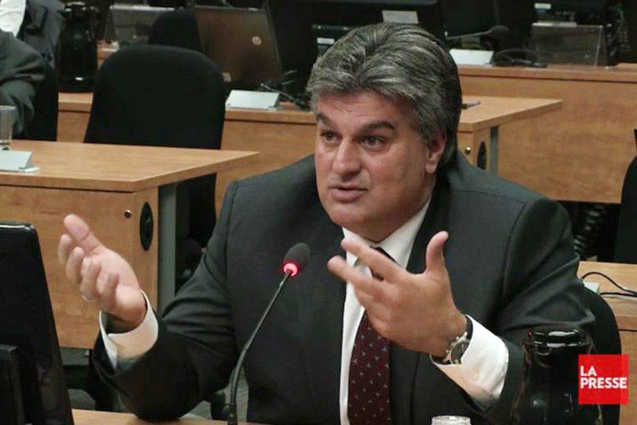 Lino Zambito, lors de son témoignage à la... (Photo: tirée d'une vidéo)