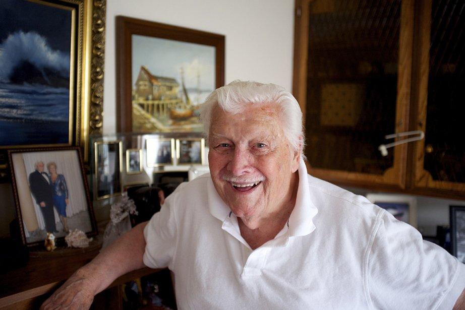 Vétéran de la Deuxième Guerre mondiale, André Martin... (Photo: Nicolas Bérubé, La Presse)