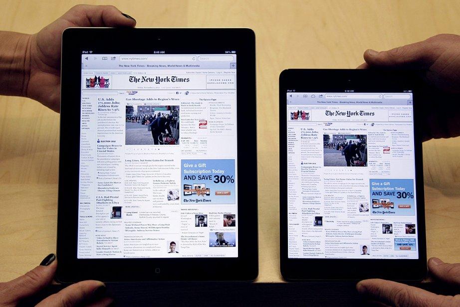 L'iPad et l'iPad mini d'Apple.... (Photo: AP)