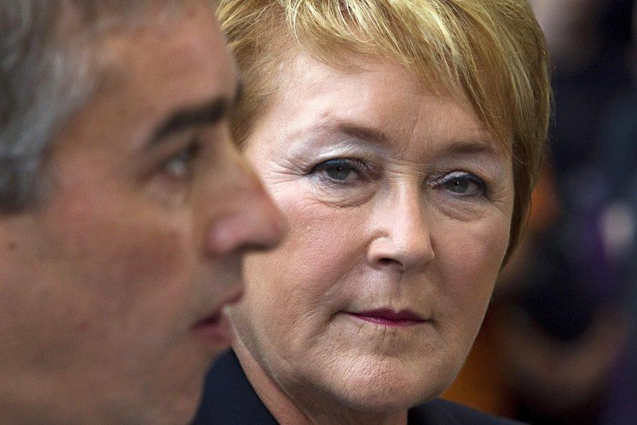 Le ministre des finances, Nicolas Marceau, et la... (Photo d'archives La Presse canadienne)