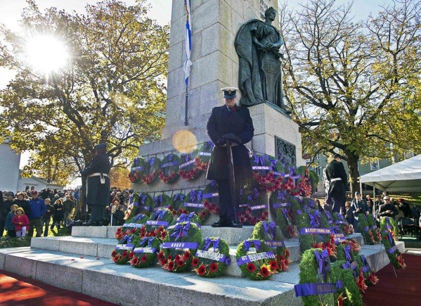 Jour du Souvenir, à Halifax. | 11 novembre 2012