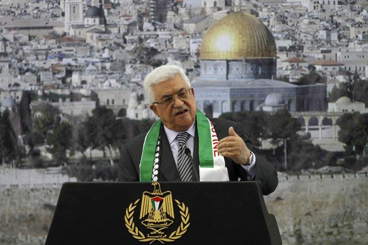 «Nous allons à l'ONU en novembre 2012, pas... (Photo: Reuters)