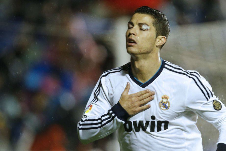 Cristiano Ronaldo... (Photo Jose Jordan, Agence France-Presse)