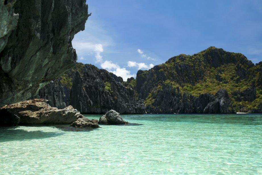 L'île de Palawan est nettement moins fréquentée que l'île voisine... | 2012-11-12 00:00:00.000