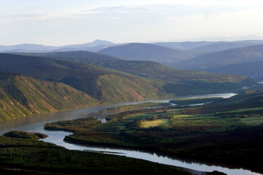 Le Yukon, victime du réchauffement climatique. | 12 novembre 2012