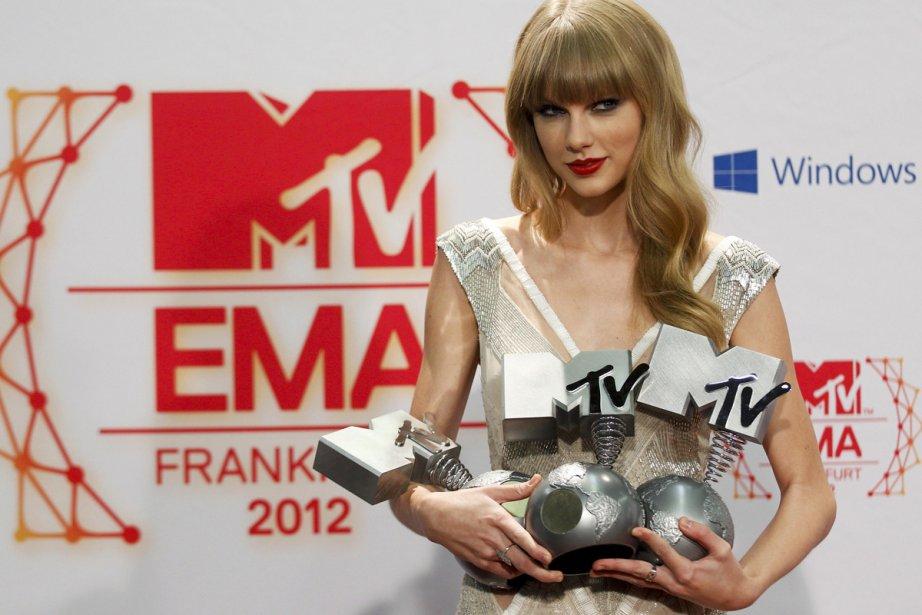 La chanteuse américaine de country pop Taylor Swift,... (Photo: Reuters)