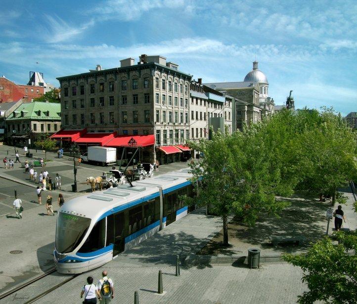 Le tramway à Montréal? Pour le moment, pas... (Photo fournie par la Chambre de commerce du Montréal métropolitain)