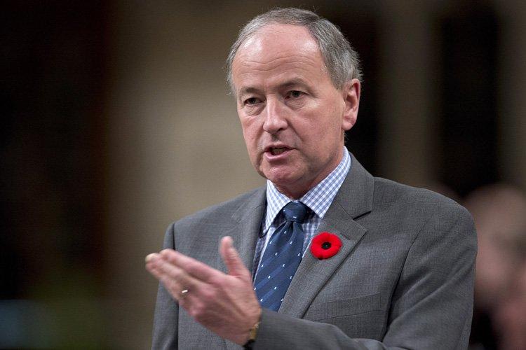 Rob Nicholson, ministre fédéral de la Justice.... (Photo: PC)