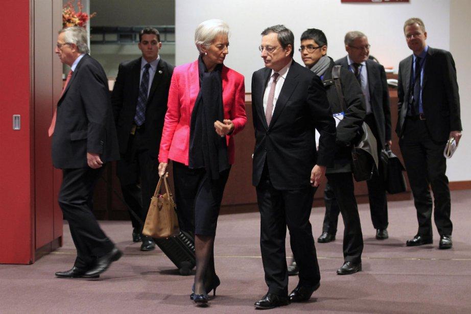 Une réunion de l'Eurogroupe consacrée à la Grèce... (Photo Yves Herman, Reuters)