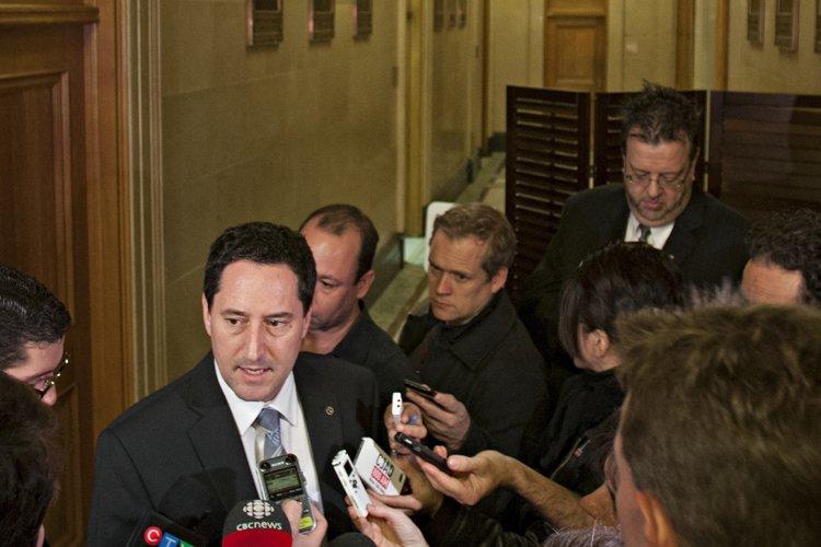 Michael Applebaum a tenu lundi un point de... (Photo: David Boily, La Presse)