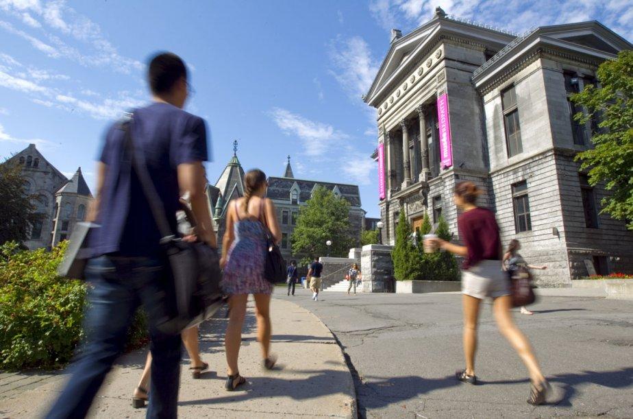 À la faculté de médecine de l'Université McGill,... (Photo Alain Roberge, archives La Presse)