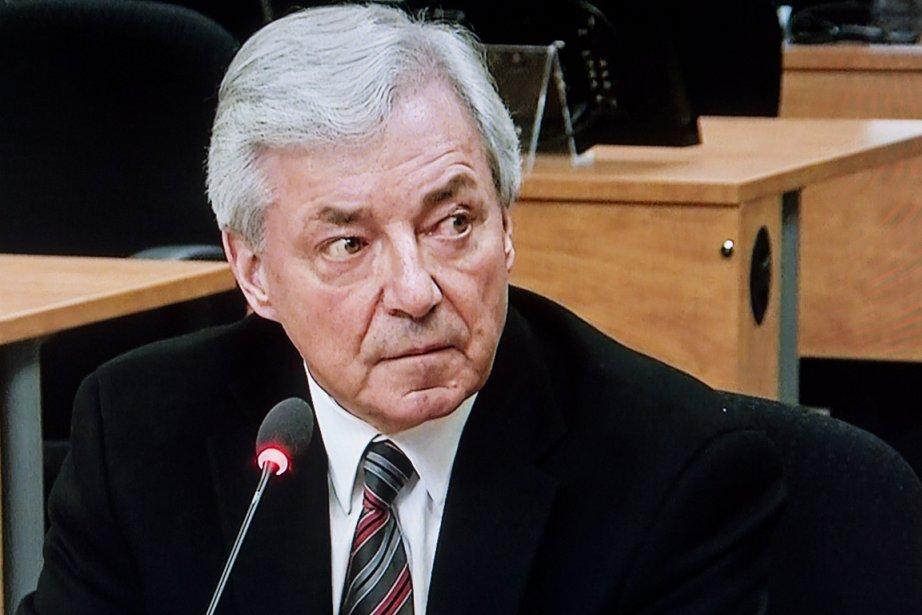 Gilles Vézina... (Image vidéo)