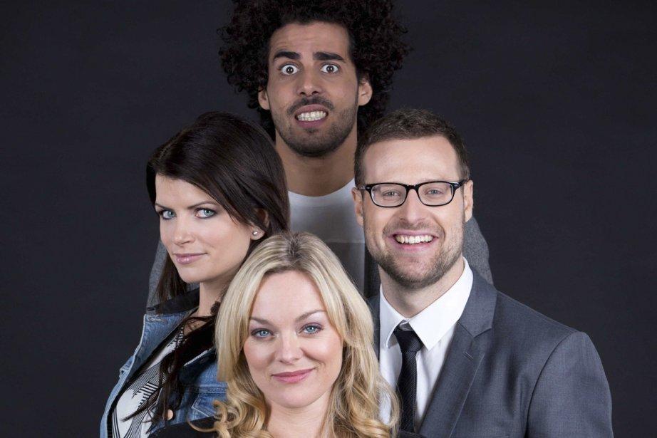 La nouvelle émission Selon l'opinion comique mettra en... (Photo: fournie par MATV)