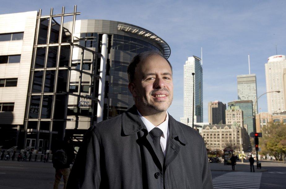 Éric Germain, responsable de la promotion des programme... (Photo Alain Roberge, La Presse)