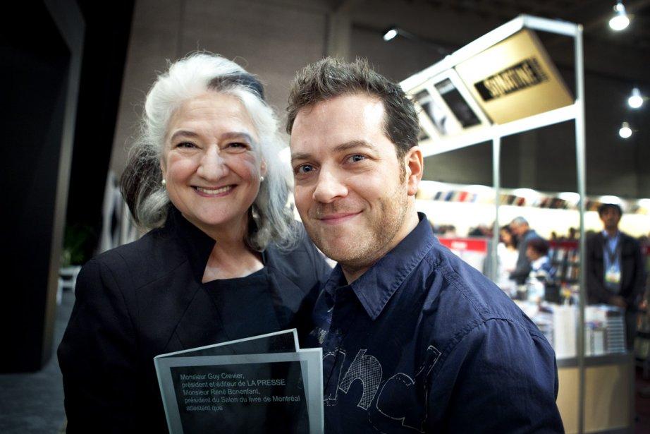 Marie Laberge et Tristan Demers... (Photo: Marco Campanozzi, La Presse)