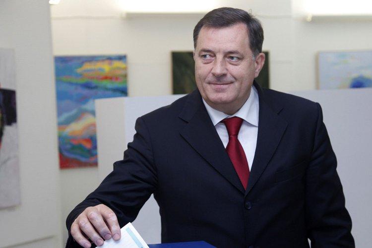 Milorad Dodik, président de la République serbe de... (Photo: AFP)