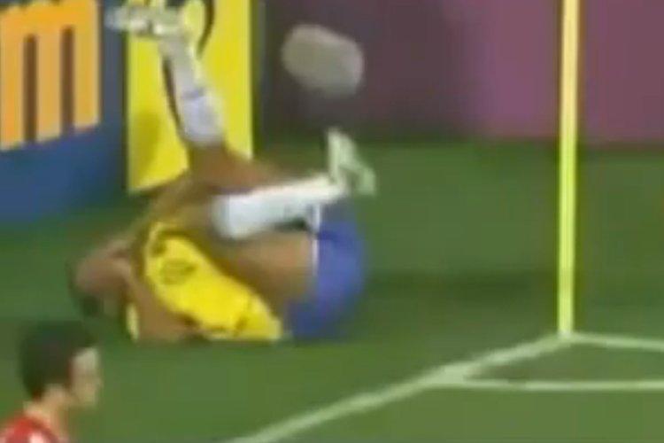 À la Coupe du monde de soccer de... (Image tirée de YouTube)