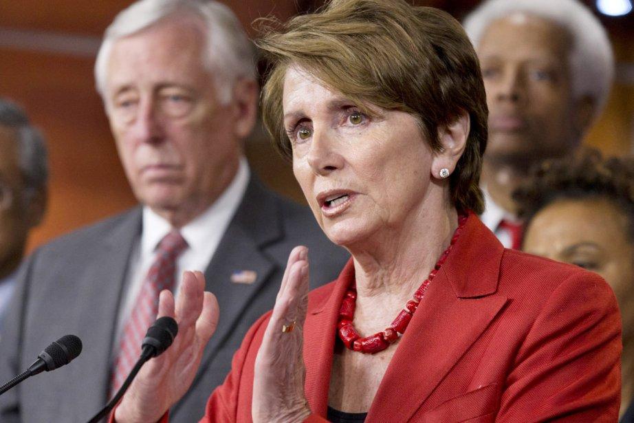 Nancy Pelosi... (PHOTO J. SCOTT APPLWHITE, ARCHIVES AP)