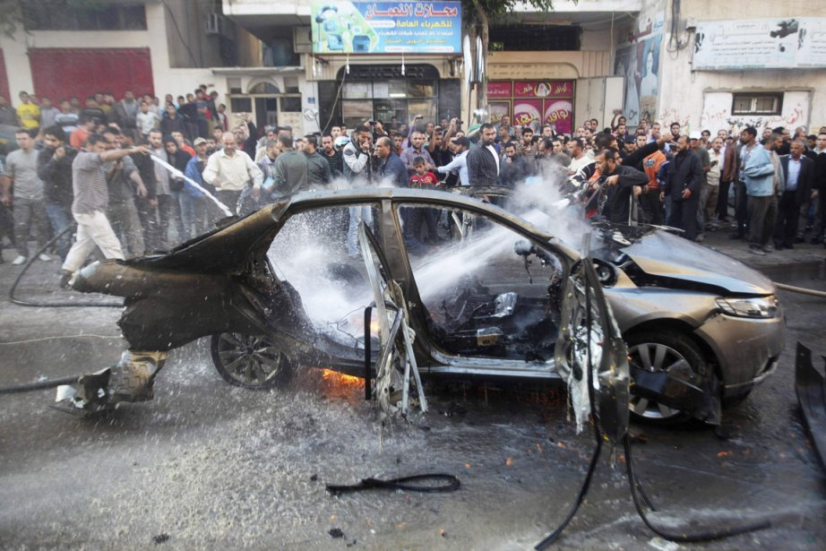 «L'armée israélienne a visé Ahmad Jaabari, chef de... (PHOTO ALI HASSAN, REUTERS)