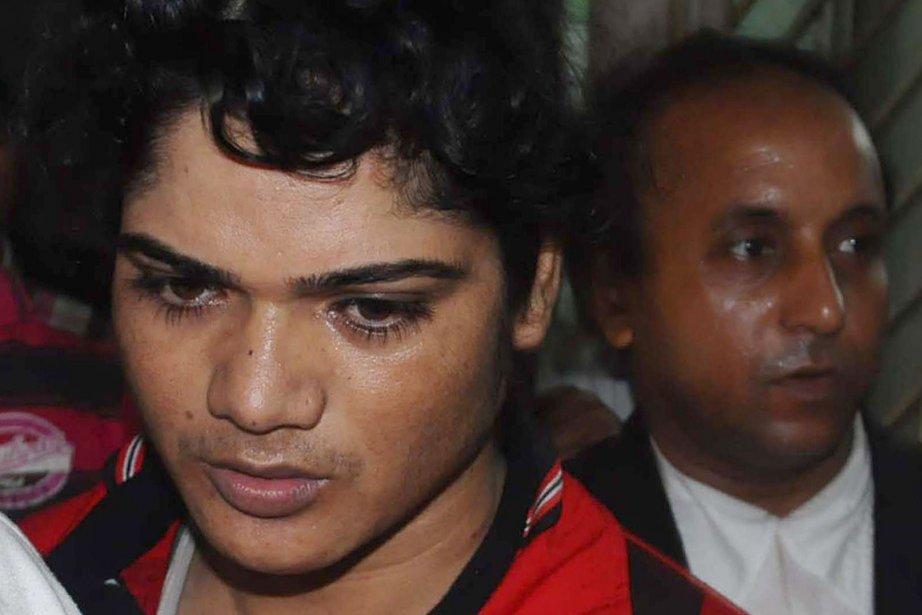 L'athlète indienne Pinki Pramanik a remporté une médaille... (Photo: AFP)