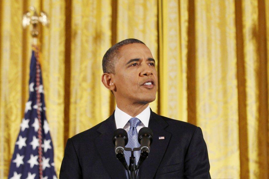Le président américain Barack Obama.... (PHOTO LARRY DOWNING, REUTERS)